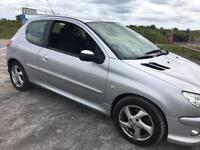 PEUGEOT 206Hdi STUNNING CAR INSIDE AND OUT
