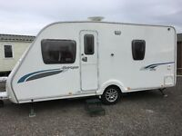 Sterling Europa 470 with fitted Mover and Awning. £7,950.00