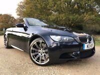2009 BMW M3 4.0 V8 Convertible £8500+ extras FSH, Sat Nav, Btooth, EDC New MOT, Recent Brakes