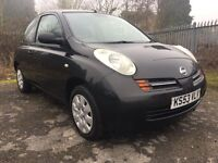 NISSAN MICRA E low mileage 12 MONTHS MOT service history 1.0 LITRE petrol - nationwide delivery