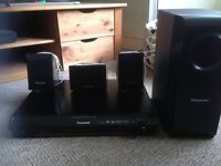 Panasonic home theatre system with subwoofer