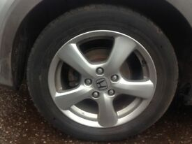 HONDA CIVIC 2006 - ALLOY WHEEL SET 205/55/16