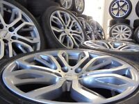 20inch staggered 5x20 range land rover alloy wheels bmw x5 x6 vw t5 PX WELCOME!