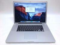 Macbook Pro 17 inch Apple mac laptop Intel 3.06ghz x 2 Core 2 duo processor FHD 1920x1200 screen
