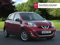 Nissan Micra 1.2 Acenta Limited Edition 5dr (shiraz red) 2014