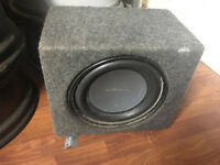 ROCKFORD FOSGATE SUBWOOFER IN CAR AUDIO