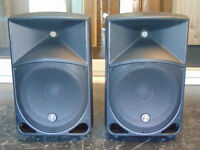 """Mackie Thump 15""""active Speakers. Around 2 years old, really nice sound. Rated at 1000w peak."""