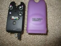 Purple Haze DELKIM TXi bite alarm with case