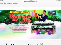 Peter Kay tickets x2 'Dance for Life' Manchester Central