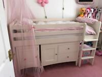 Childrens Marks And Spencer Hastings Sleep Station (mid sleeper) Single Bed