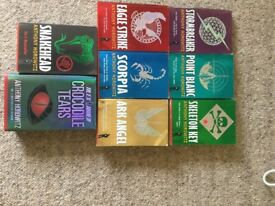 Anthony Horowitz Alex Rider books 1-8