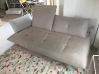 Habitat Naoko natural 3 seater sofa