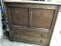 Wood cabinet furniture