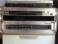 550 watt Bass Amp, Rack Tuner and Wireless Jack
