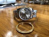 Rolex Datejust 36mm Bi-Metal Watch