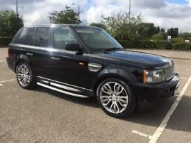 Range Rover Sport HSE TDV8 rear entertainment very good condition