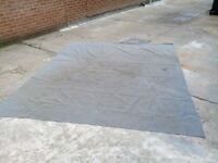 Breathable ground sheet good used condition, size 2.5m x 3m