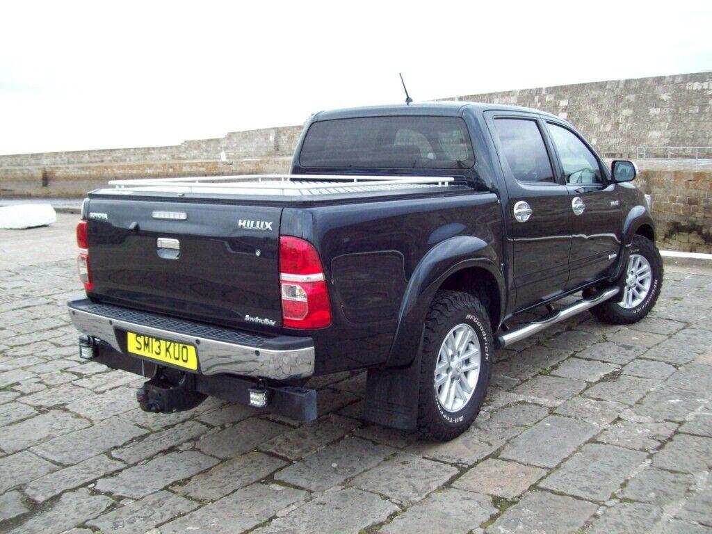 2013 TOYOTA HILUX 3.0 AUTO INVINCIBLE 45250 MILES NO VAT