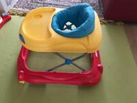 Baby walker (slight use and in very good condition)