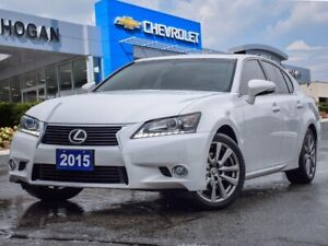 2015 Lexus GS 350 AWD|BACKUP CAM|BLUETOOTH|GPS|FULLY JAMMED