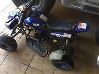 Kids petrol quad