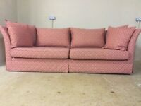 Collins And Hayes - Curved Back - Large Sofa