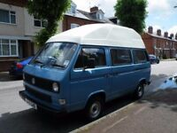 VW Camper Van 12 Months MOT - T25 High Top 1989 - Reconditioned Engine