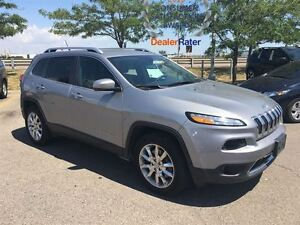 2015 Jeep Cherokee Limited**HEATED AND VENTILATED SEATS**NAVIGAT
