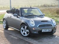 MINI CONVERTIBLE 1.6 COOPER S 2d 168 BHP 6 Month RAC Parts & Labour Warranty