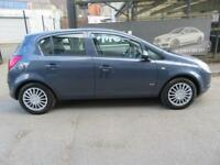 VAUXHALL CORSA 2008 1.2 CDTI CLUB A/C 5Door - LONG MOT - LOW TAX - ECONOMICAL - fiesta polo clio