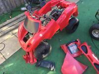 Ferrari quad project 110cc