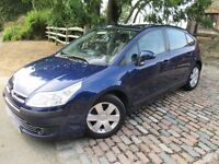 CITROEN C4 AUTOMATIC BLUE LOW MILEAGE 61000 approx. MOT & SERVICE HISTORY GOOD COND.