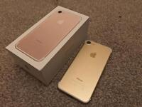 Iphone 7 gold.