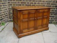 FREE DELIVERY Retro Ercol Mural Hi Fi Cabinet Vintage Mid Century Furniture