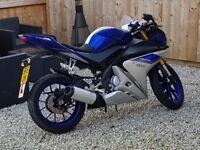 Yamaha YZF R125 ABS 1900miles