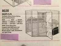 Sauna (Finnled, Luxury 6 person)