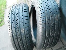 215 X 55 X 17 TYRES , TYRES AS NEW TREAD AS NEW , BOTH AS NEW , 7MM TREAD,TAKEN OFF MY AUDI A6