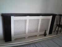 Bespoke large radiator guard: antique style