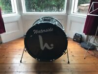 "Bass Drum 22"" x16"" with Remo Coated Emperor head"