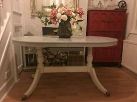 Lovely upcycled Italian style extendable table