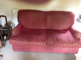 Two seater sofa bed - must collect