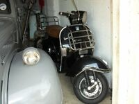 vespapx 125 180molossi kit been standing in dry shed few years not used since last mot