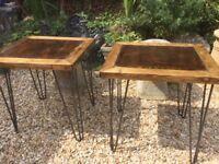 handmade side tables