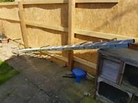 4m roof ladder single new