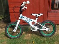 Child's Football bike - 14 inch wheels