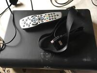 Sky box with remote with scart working used £15