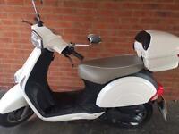 Retro moped