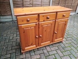 Antique Pine Small Cupboard