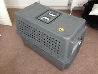 Large dog/pet air travel crate