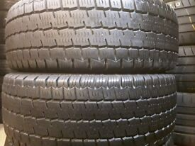 Part worn tyres winter tyres in stock sets/ 235x65x16 / 41 new road rm138dr